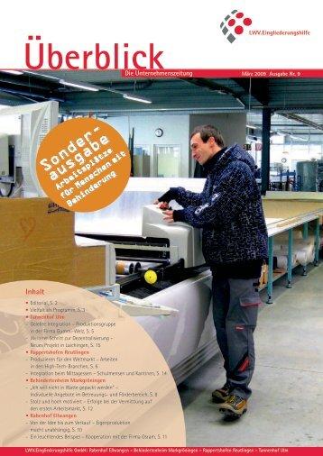 Überblick - LWV.Eingliederungshilfe GmbH