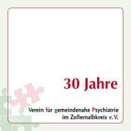 Psychosoziale Hilfen - Vereins für gemeindenahe Psychiatrie