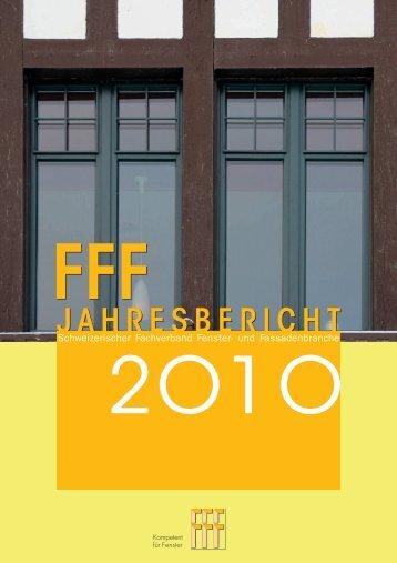bericht aus - Schweizerischer Fachverband Fenster
