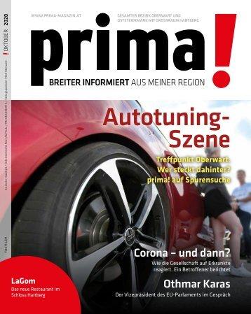 prima! Magazin - Ausgabe Oktober 2020
