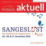 Bayreuth Aktuell Oktober 2020