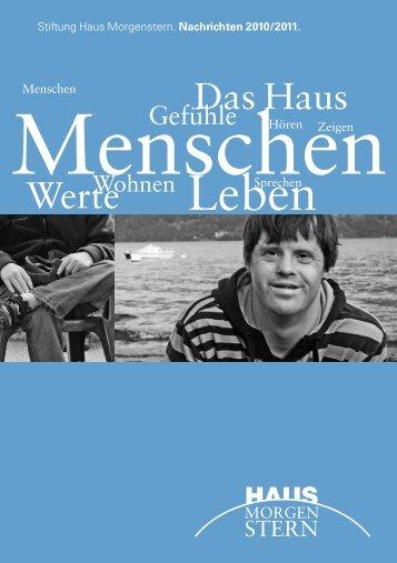 Jahresbericht 2010/2011 - Haus Morgenstern