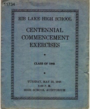 Rib Lake History
