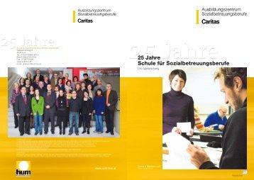 """Festschrift """"25 Jahre Schule für Sozialbetreuungs-berufe"""" - SOB Linz ..."""