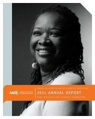 2011 annual report - American Association of Diabetes Educators