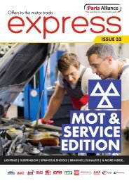 Express Issue 33 - MOT & Service Edition