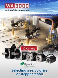 WA3000 Industrial Automation October 2020 - International Edition