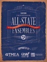 2020 TMEA All-State Tribute Program