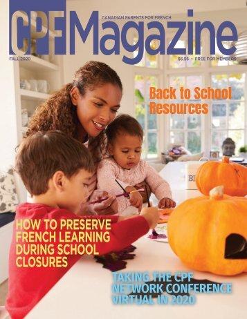 CPF Magazine Fall 2020 Issue