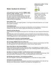 Bestellformular für Schulen - Schreinerwissen.de