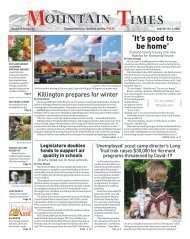 Mountain Times - Volume 49, Number 40 - Sept. 30-Oct. 6, 2020