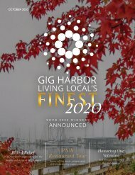 October 2020 Gig Harbor Living Local