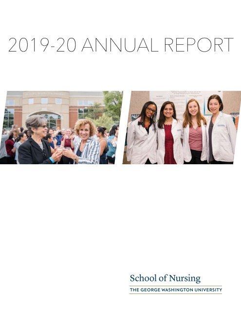 2020 GW Nursing Annual Report
