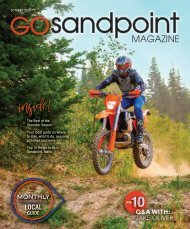 October 2020 Go Sandpoint