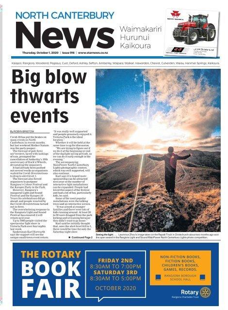 North Canterbury News: October 01, 2020