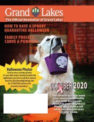 Grand Lakes October 2020
