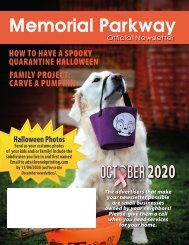 Memorial Parkway October 2020