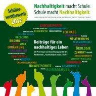 Nachhaltigkeitmacht Schule. Schule ... - Gesobau AG
