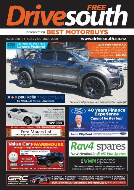 Best Motorbuys: October 02, 2020