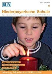 Niederbayerische Schule - Bayerischer Lehrer