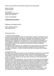 Markus Schuster Schreinermeister Am Korstick 4 45239 E