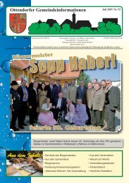 JULI 2007 - Ottendorf an der Rittschein
