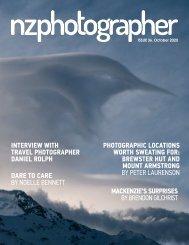 NZPhotographer Issue 36, October 2020