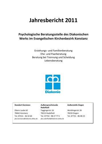 Unser Jahresbericht 2011 zum Download - Diakonisches Werk