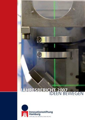 jahresbericht 2007 - Innovationsstiftung Hamburg