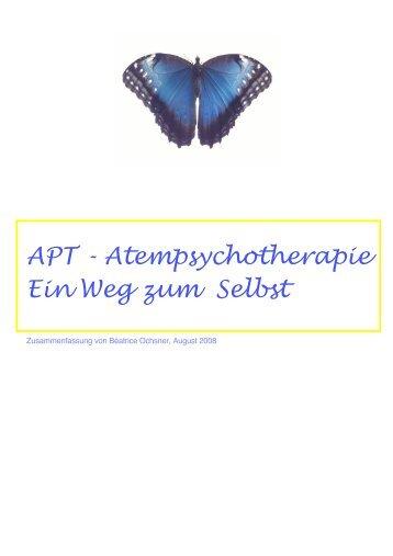 APT - Atempsychotherapie Ein Weg zum Selbst - Institut für Atem ...