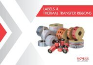 Labels and Thermaltransfer-Ribbon brochure