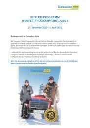 Pistenbutler-Programm 2020-21
