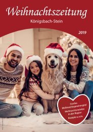 Weihnachtszeitung Koenigsbach-Stein 2019