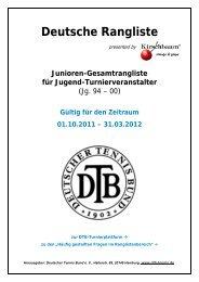 Deutsche Rangliste