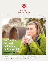 Great West Way® Travel Magazine | 2020 Virtual