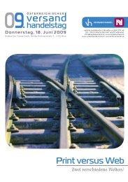 Print versus Web - Handelsverband