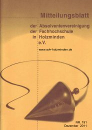 Geburtstagsliste - AVH-Holzminden