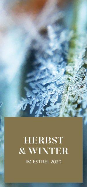 Herbst & Winter-Programm 2020/2021 im Estrel Berlin