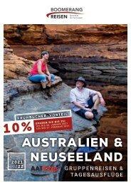 AAT Kings Gruppenreisen & Kurztouren in Australien und Neuseeland 2021/22