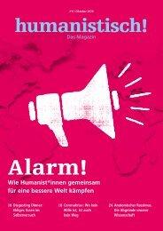 humanistisch! Das Magazin #11 - 4/2020