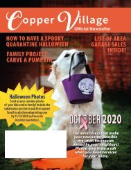 Copper Village October 2020