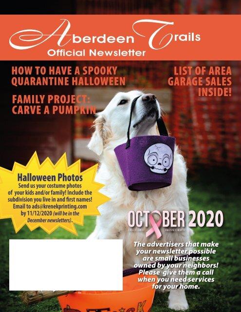 Aberdeen Trails October 2020