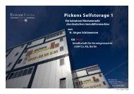 Pickens Selfstorage 1 - Fondsvermittlung24.de