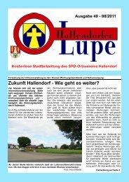 """Aus """"Alt"""" macht """"Neu"""" - SPD Hallendorf"""