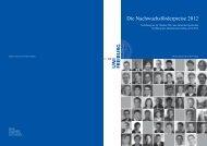 Freiburger Nachwuchsförderpreise 2012 - Albert-Ludwigs ...