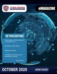 Cyber Defense eMagazine October 2020 Edition