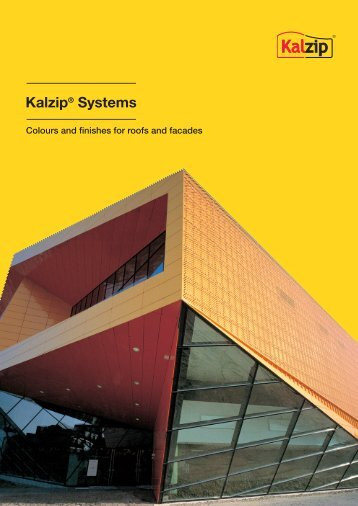 Colours and finishes for roofs and facades - Kalzip
