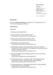Niederschrift über die 3. Gemeinderatssitzung am Mittwoch ... - Villach