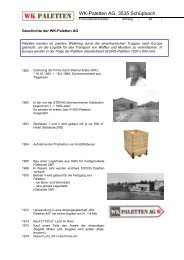 GB Geschichte der WK_komprimiert - WK Paletten AG