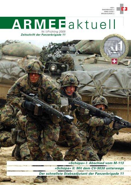 ARMEE aktuell - Zeitschrift der Panzerbrigade 11 (Ausgabe ... - Heer